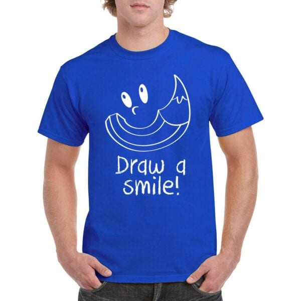 T-shirt Draw a smile